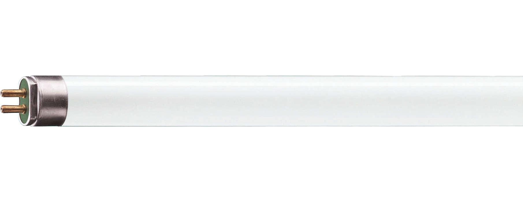 Iluminação fluorescente de longa duração