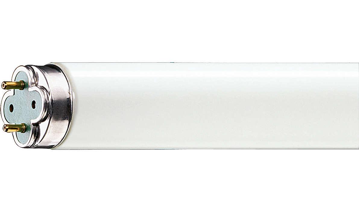Langlebige Leuchtstofflampe