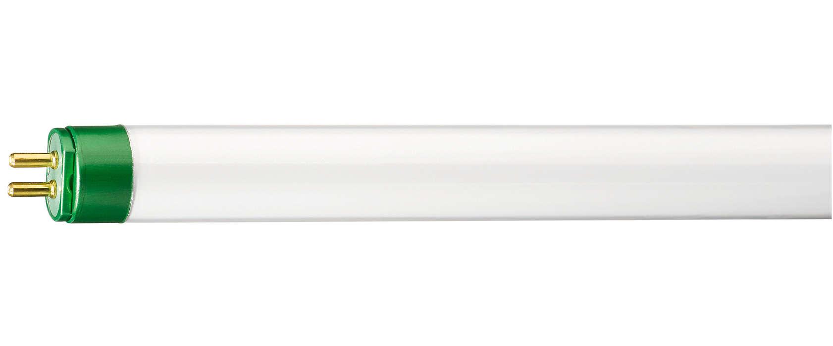 A luz fluorescente mais eficiente e brilhante do mundo.