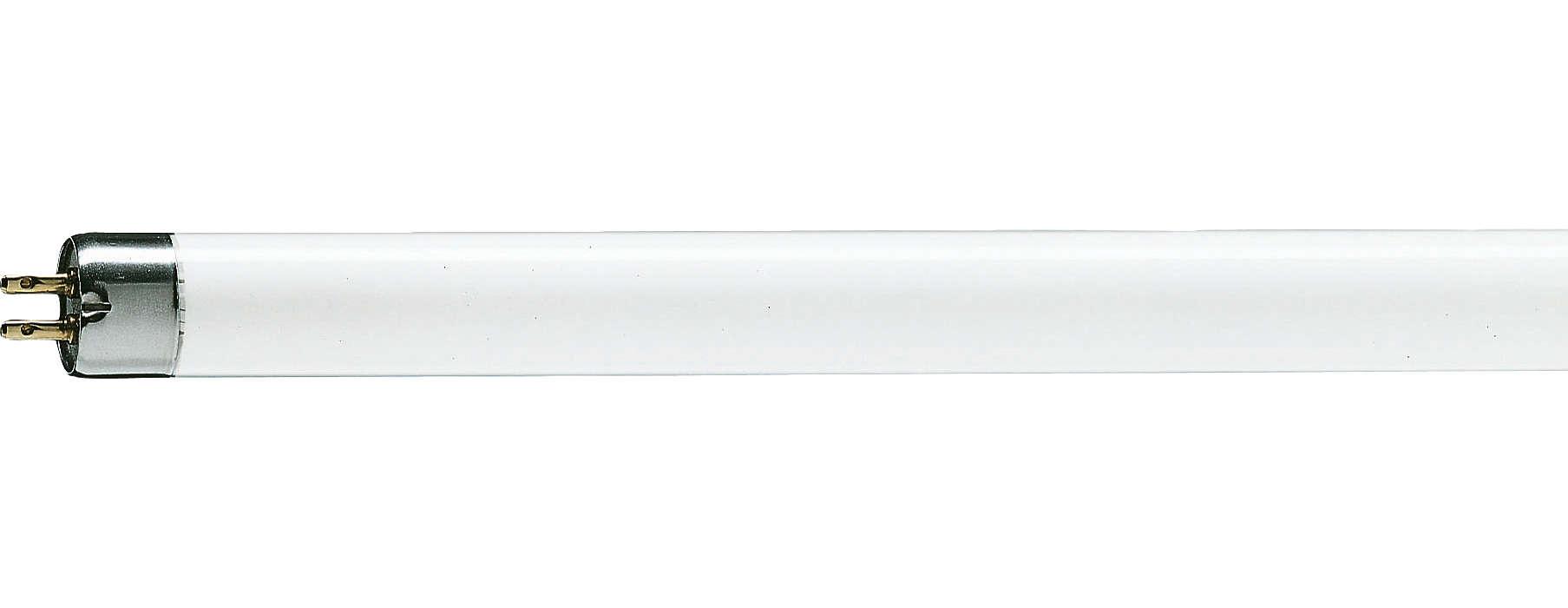 Kompakt lysstofrør med forbedret lyskvalitet