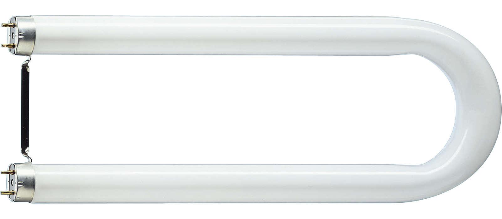 U-formet lysstofrør