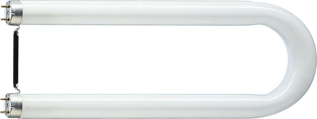 Die U-förmige Leuchtstofflampe