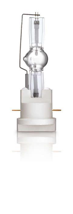 MSR Gold™ FastFit – remplacement facile de la lampe en quelques secondes