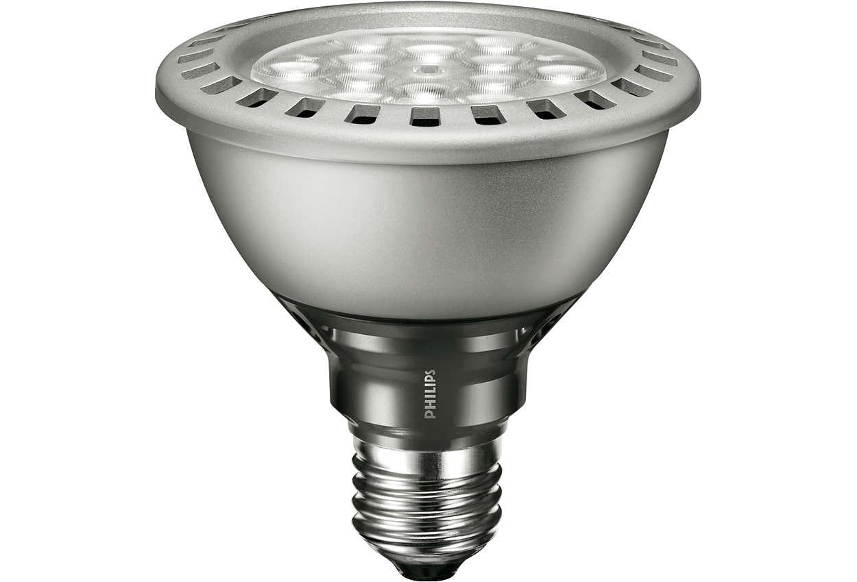 MASTER LEDspot PAR - Ortak kullanım alanlarının aydınlatması için enerji tasarruflu LED spot aydınlatma alternatifi