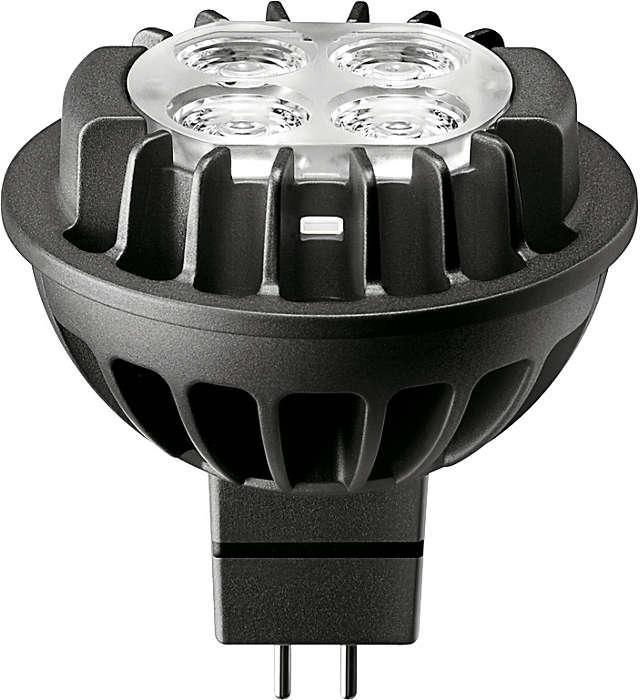 Лампа MASTER LEDspot LV - идеальное решение для локальной подсветки