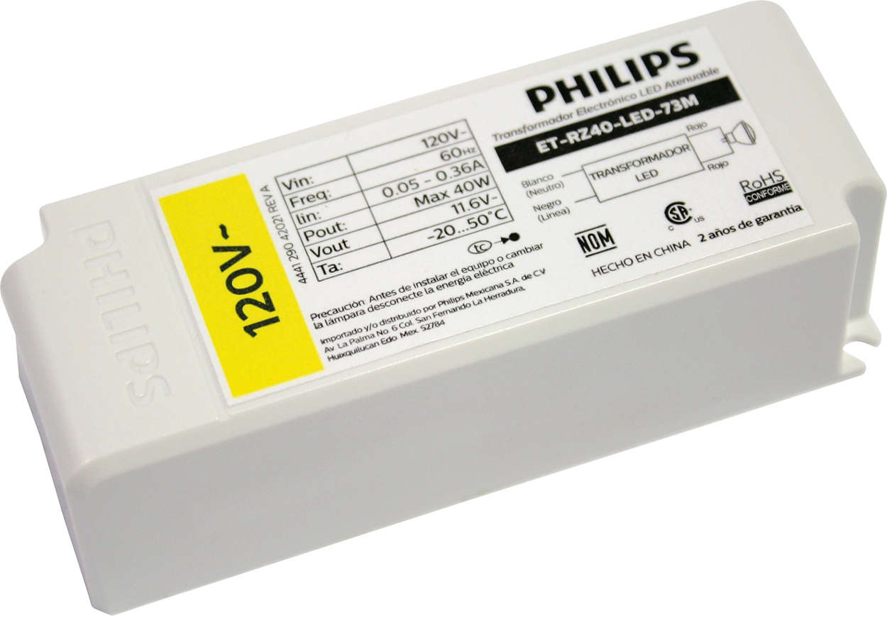 LED Driver Transformer 12W 12V O complemento ideal para sistemas LED 12V até 12W