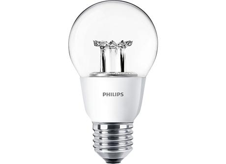 MAS LEDbulb D 9-60W E27 827 A60 CL