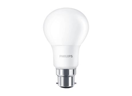 LEDBulb 9.5-60W B22 3000K A60 3PK/6 AU
