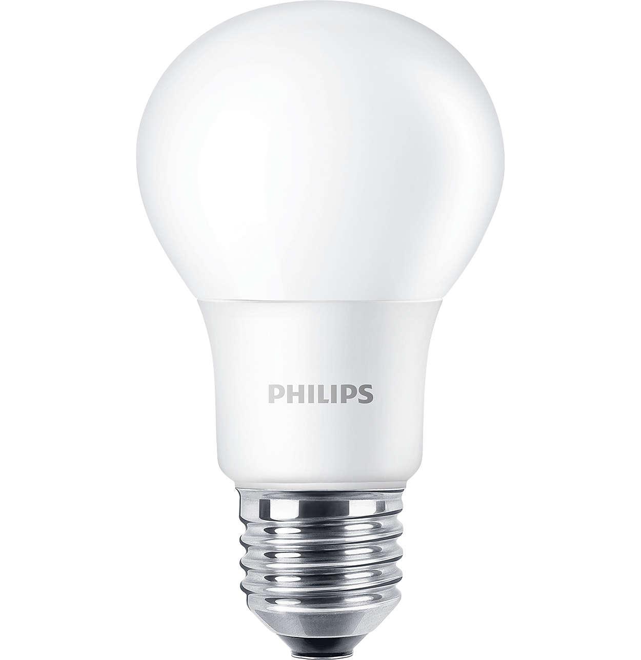 As lâmpadas LED não reguláveis são ideais para aplicações de iluminação geral.