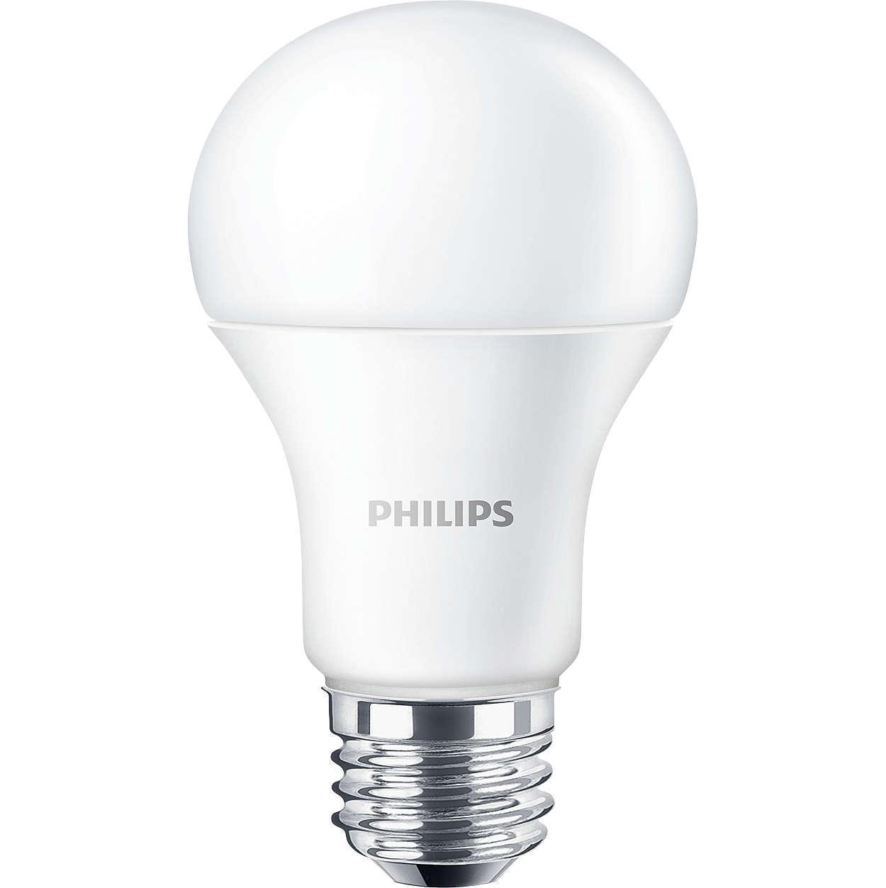 Οι λαμπτήρες LED (με ή χωρίς δυνατότητα ρύθμισης της έντασης φωτισμού) είναι ιδανικοί για εφαρμογές γενικού φωτισμού.