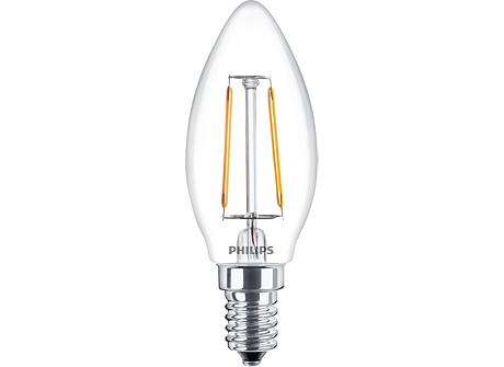 LED Filament 2.3-25W E14 WW B35 ND 1PF AU