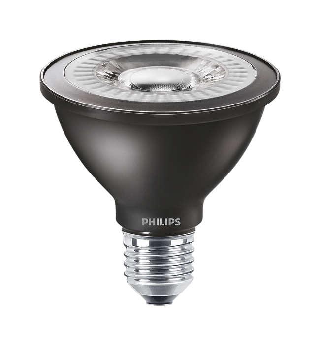MASTER LEDspot PAR – die energiesparende Alternative für konventionelle Hochvolt PAR Reflektoren
