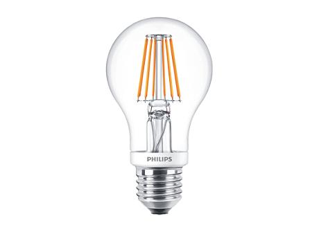 CLA LEDBulb D 8-60W A60 E27 827 CL