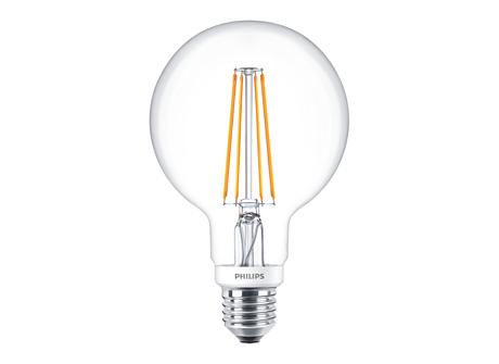 CLA LEDGlobe D 7-60W G93 E27 827 CL