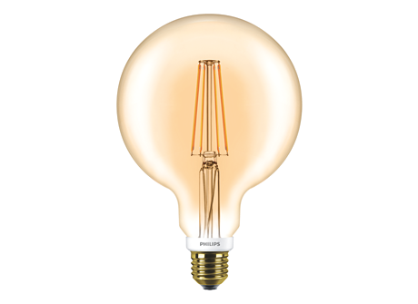 CLA LEDGlobe D 7-50W G120 E27 820 GOLD