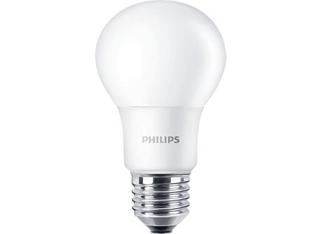 CorePro LEDbulb D 6-40W A60 E27 827