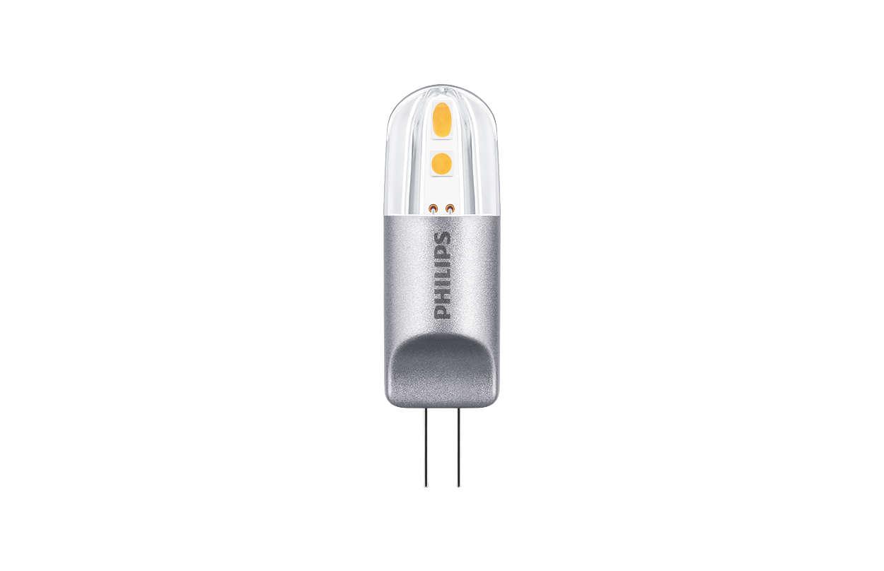 CorePro LEDcapsule LV - für Allgemeinbeleuchtung und dekorative Anwendungen