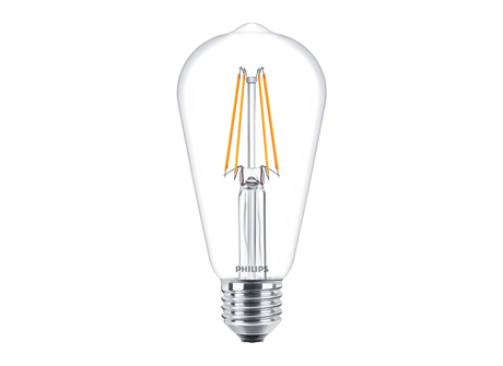 CLA LEDBulb ND 6-60W ST64 E27 827 CL