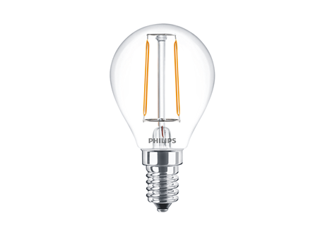 CLA LEDLuster ND 2-25W P45 E14 827 CL