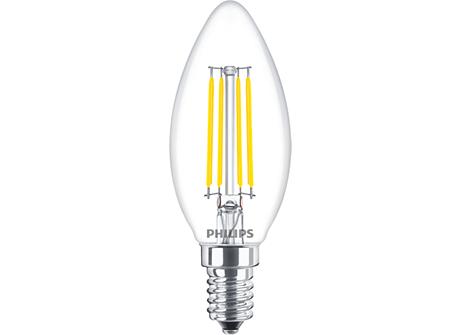 LED B35 1-25W E14 CL ND 830