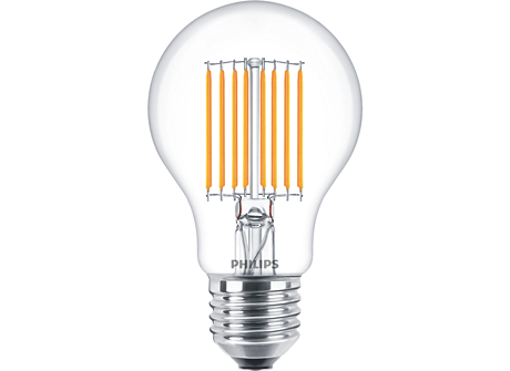 LED A60 2-40W E27 CL ND830