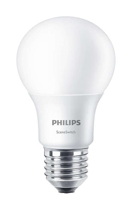 Přepínejte světelné nastavení bez výměny žárovek
