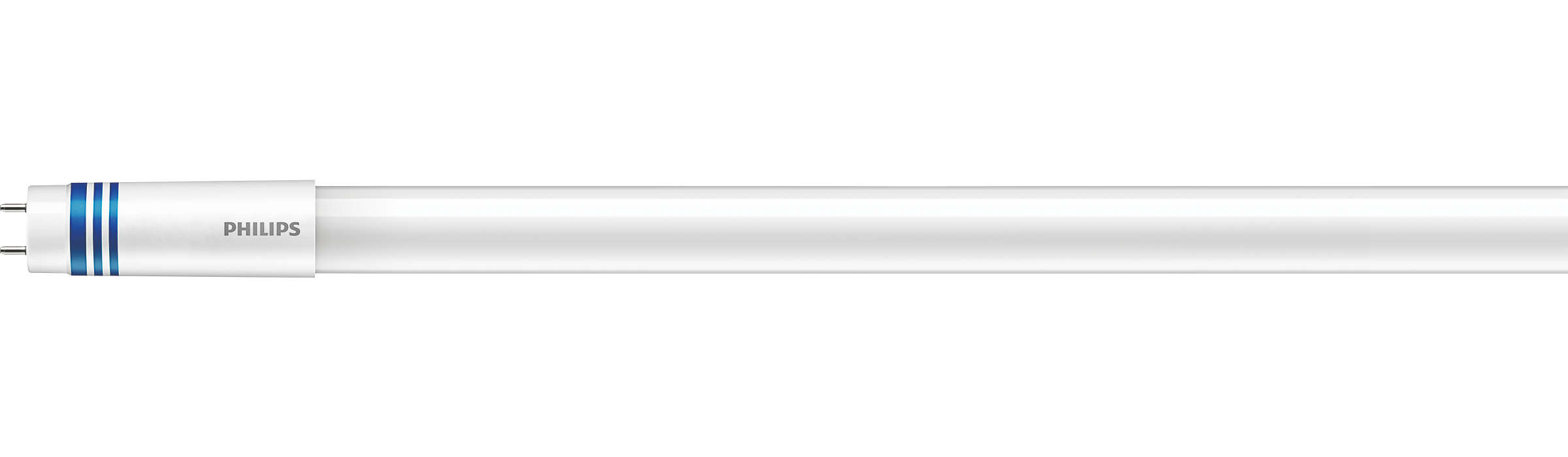 Universal T8 LEDtube lighting is now easier and simpler than ever