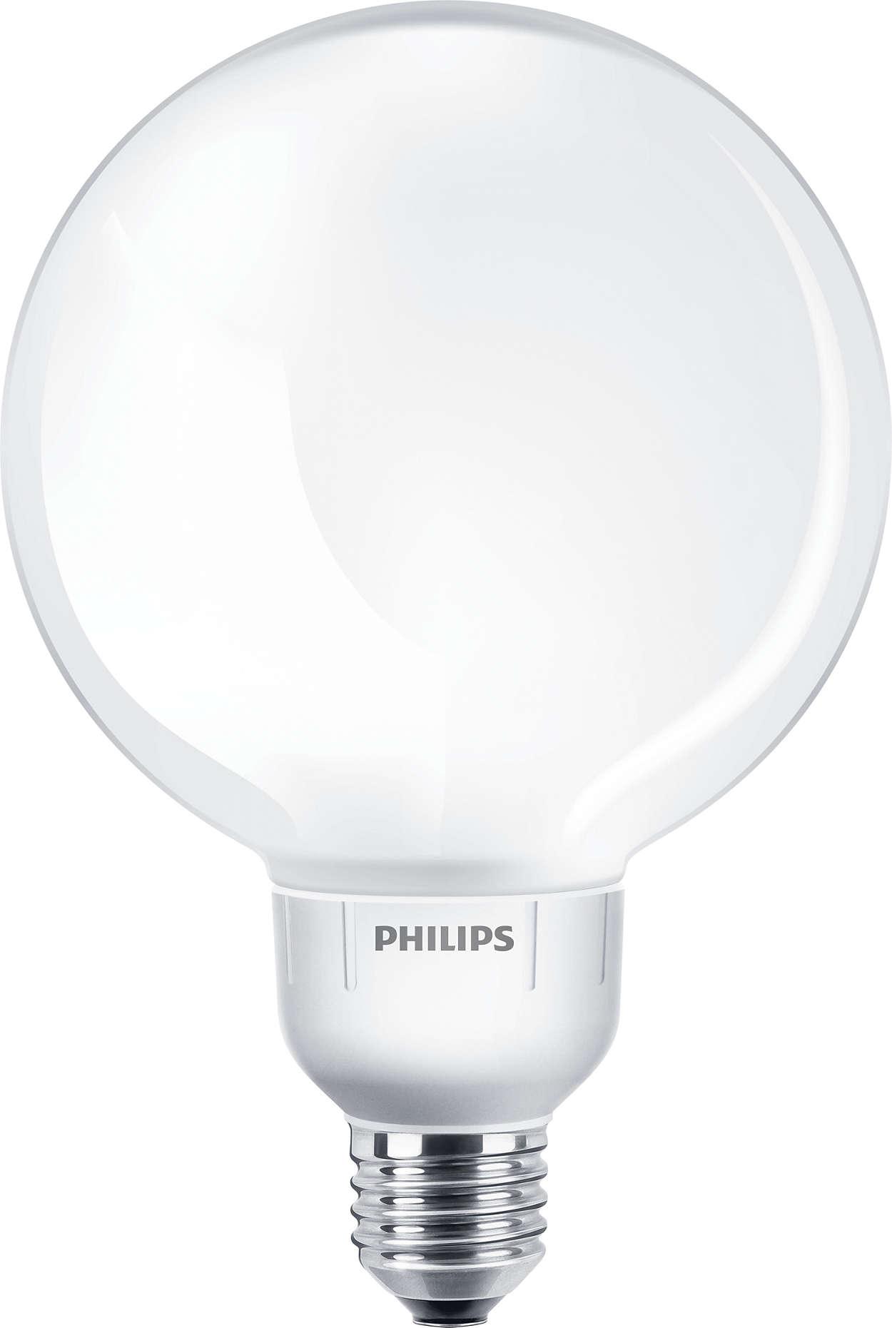 Lampe en forme de globe offrant une lumière tamisée décorative, pour compléter vos luminaires