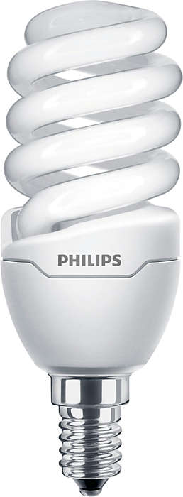 Bright & compact energy saving lamp, with slim design ideal for narrow fittings