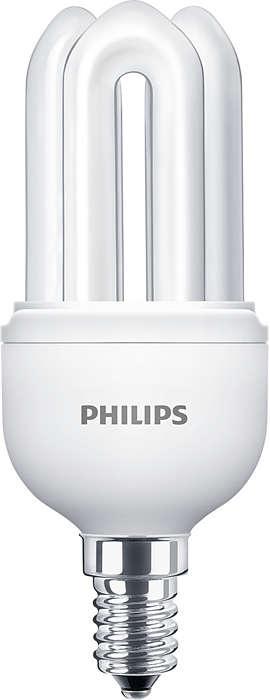 Malá a výkonná kompakní zářivka poskytující kvalitní světlo a kompaktní design