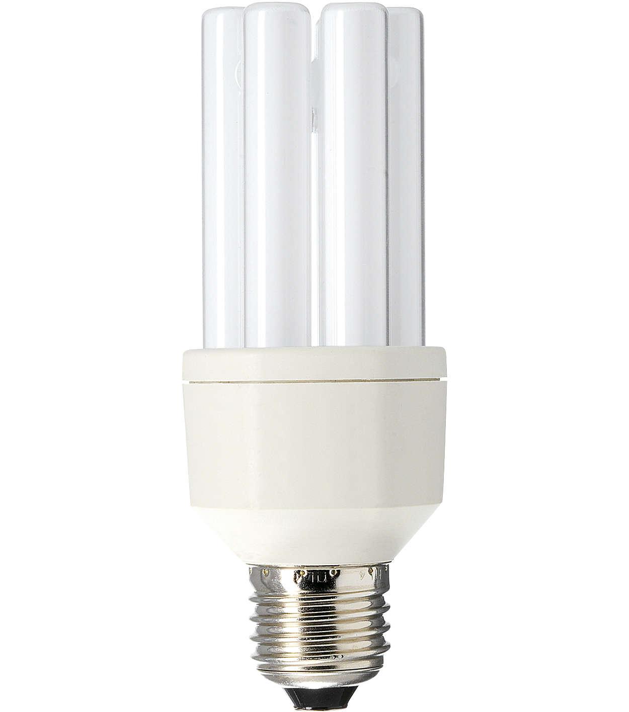Energeticky účinná zářivka vhodná pro časté spínání