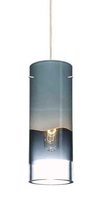 Crete smoke glass shade