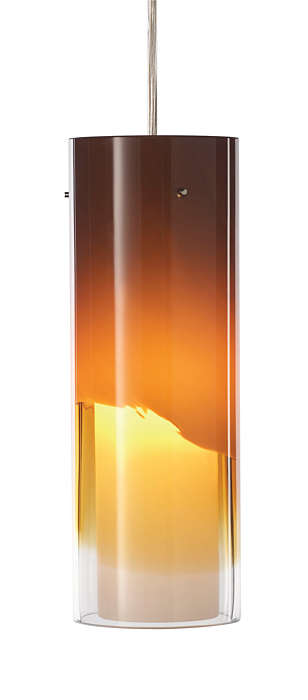 Capri amber glass shade