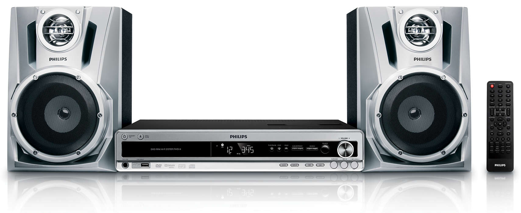 DVD and MP3-CD Playback