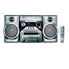 FWD182/55  Minisistema Hi-Fi con DVD