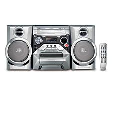 FWD182/98 -    DVD Mini Hi-Fi System