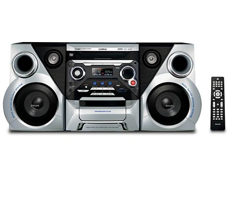 DVD Mini Hi Fi System FWD185 98