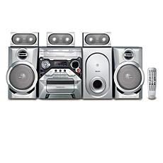 FWD186/55  Minisistema Hi-Fi con DVD