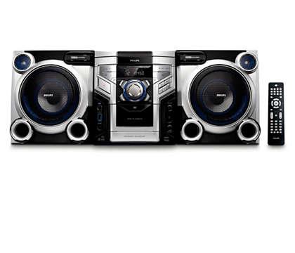 以 卓越的音效享受 DVD 和 MP3 音樂