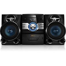 FWD410/77  Minisistema Hi-Fi con DVD