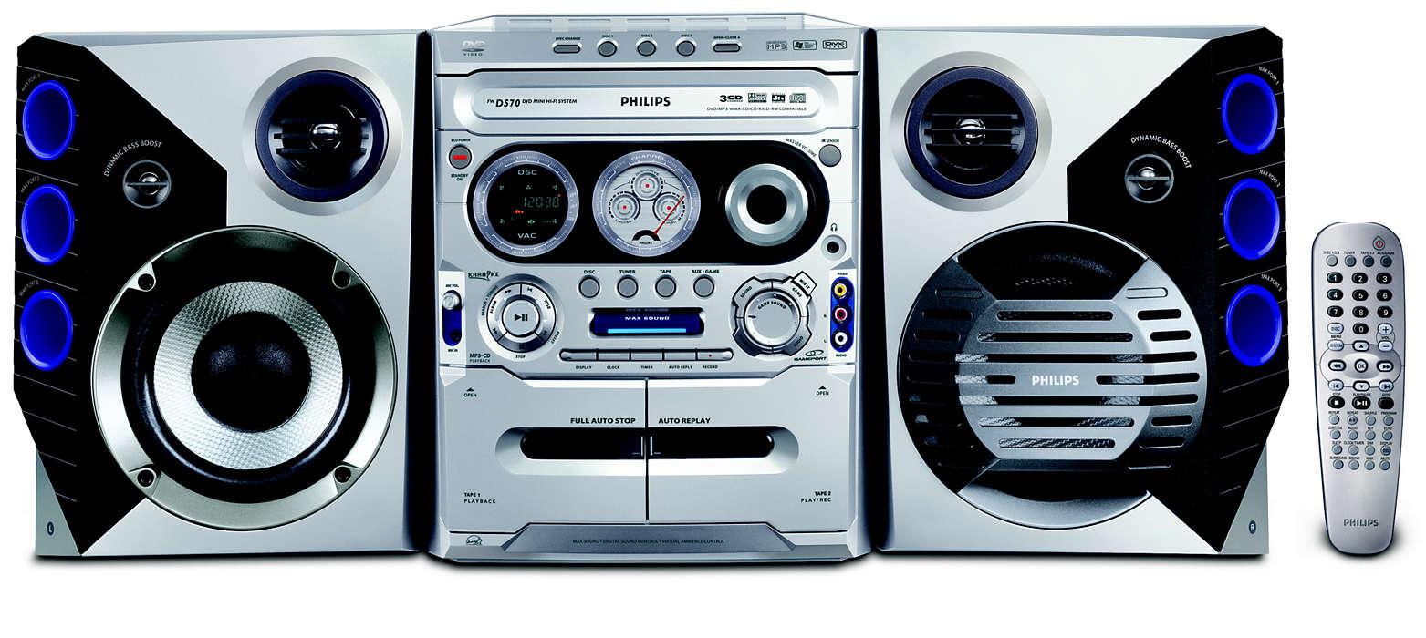 เล่น DVD และ WMA-MP3-CD