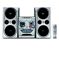 FWD792/55  Minisistema HiFi con DVD