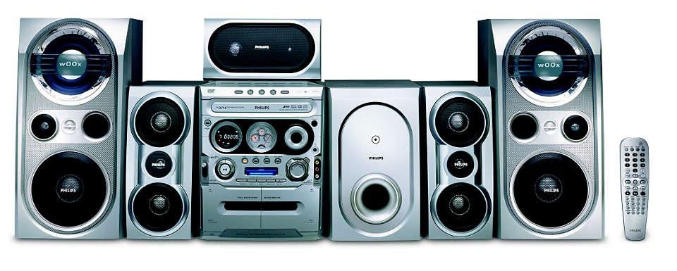 Reprodução de DVD e CD de MP3/WMA