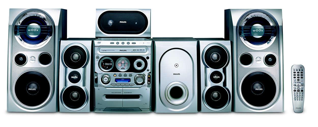 Mini Hi-Fi System FWD796/21M | Philips