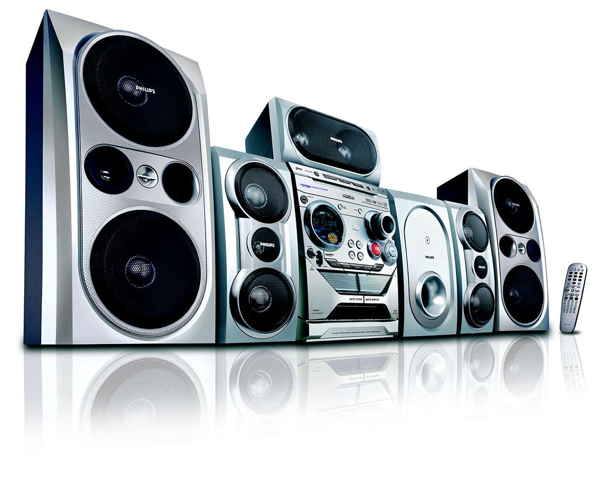DVD Mini Hi-Fi System FWD798/37 | Philips
