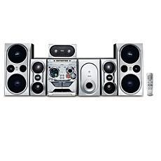 FWD798/55 -    Minisistema Hi-Fi con DVD