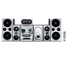 FWD798/55 -    Mini Hi-Fi System com DVD