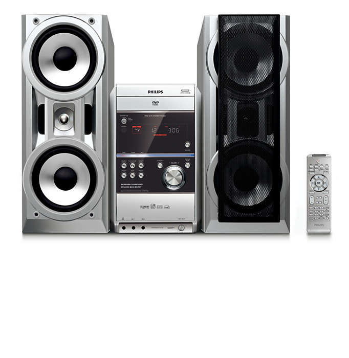 Nyt musikk med Virtual Surround-lyd