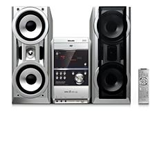 FWD831/12  Микросистема Hi-Fi с DVD