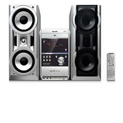 DVD Mini Hi-Fi sistemi